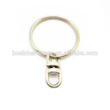 Fashion High Quality Metal Keychain Split Ring
