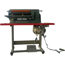 Leather Foam Sheet Strip Slitting Cutting Machine