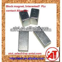 ISO/ts 16949 certificado neodimio imán Super