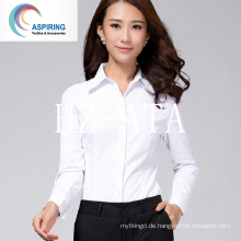 Tc Gewebe gekämmtes Gewebe Polyester / Baumwollgewebe für Frauen T-Shirts