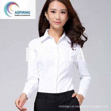 Camiseta Tecido 65% Poliéster 35% Algodão 45X45 133X72 Penteado Qualidade