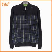 Half Zipper Turtleneck Sweater for Mens
