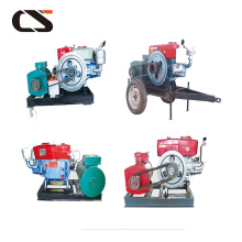 Agricultural generator set machine