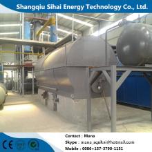 Used lube oil refining base oil distillation equipment