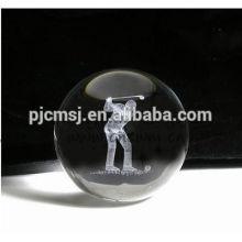 Magic christmas crystal ball