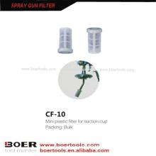 Spray Gun Plastic Nylon Filter Spray Gun suction cup Strainer