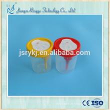 Recipiente urinário médico descartável para hospital
