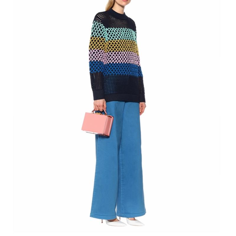 Hand Knitted Crochet Sweater