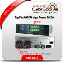 Alto rendimiento 64pon Amplificador óptico de gran potencia de 3u de los ventiladores grandes E / Ydfa