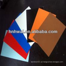 Folha de alumínio pré-pintada para materiais de construção