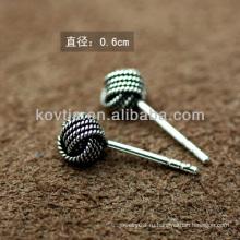 Оптовые дешевые серебро 925 Таиланд серебро серьги