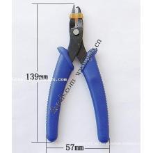 Gets.com ferronickel blauer Zirkon und Gelbgold Ring