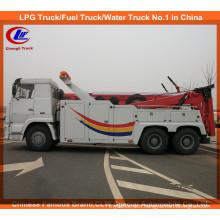 Heavy Duty 6*4 351-450HP HOWO Road Wrecker Truck