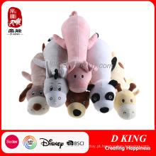 Brinquedo de pelúcia de cão personalizado presente promocional