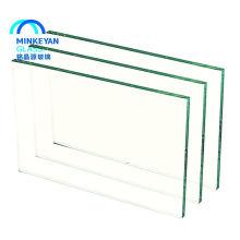 China preço de folha de vidro temperado inquebrável clara