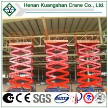 Equipment Maintenance and Construction Site Using Lift Platform