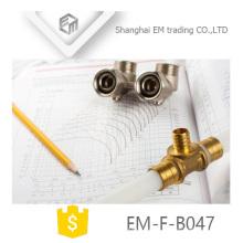 Encaixe de tubulação do colector de bronze EM-F-B047
