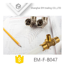 ЭМ-Ф-B047 латунный коллектор штуцер трубы