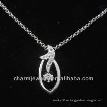 925 colgante elegante de plata esterlina PSS-008