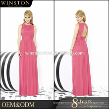 Guangzhou Factory Real Sample Latest Alibaba silk evening dress