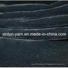 Stripe Discharge Bedrucktes Kleidungsstück Beflockung Stoff