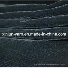 Stripe Discharge Printed Garment Flocking Fabric