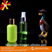 Matériel PET 60ml bouteille en plastique