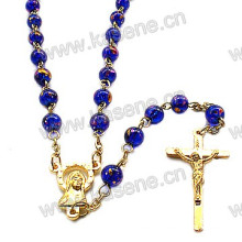Best Selling Gold Religious Rosary Necklace