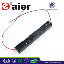 Daier long 3v battery holder with wire long 2 aa battery holder