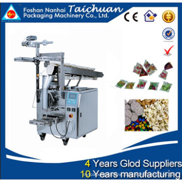 Semi Automatic triangle package small snack food packing machine