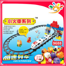 2014 HOT SELLING PRODUCTS! 9688 HIGH SPEED TRAINS train block toys blocks toy train
