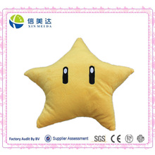Verkauf Hot Super Mario Gelbe Stern Kissen