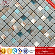 Los productos baratos de la fábrica de la fuente de China mezclaron los azulejos de mosaico de la Caliente-fusión