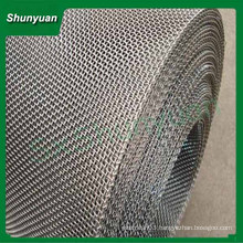High temperature stainless steel crimped wire mesh