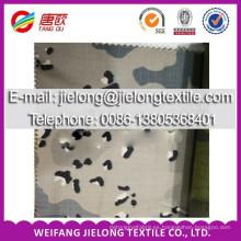 Tela impresa camuflaje del nuevo color 2014 para la ropa en weifang