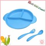 cheap bamboo fiber Colors Microwave Safe Reusable Hard Plastic Plates
