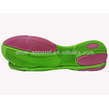 Rubber soles indoor football/soccer outsole 2013