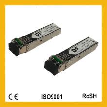 Transmisor-receptor óptico SFP + Transmisor-receptor de la sola fibra del modo LC de la alta calidad 10giga