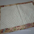 100%cotton dyed plaid quilted