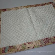 100% algodón plaid teñido acolchado