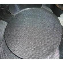 Filtro de filtro 40 de malla de tela de alambre negro para el filtro de aire / líquido