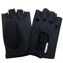 Herrenmode Fingerlose Echtlederhandschuhe (YKY5026)