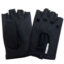 Men′s Fashion Fingerless Genuine Leather Driving Gloves (YKY5026)
