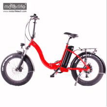 2017 Hottest 20inch folding electric chopper bicycle,e fat bike