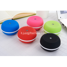 Mini altoparlanti portatili Bluetooth wireless promozionali