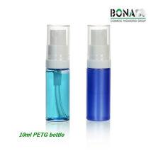 Bouteille en PETG épaisse de 10 ml avec pompe à huile