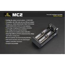 Chargeur haute qualité OEM Xtar Mc2 Mc1 / Vc2 / Vc4 pour batteries 18650
