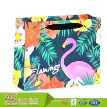 Bolsos de papel de alta calidad de la impresión del logotipo de encargo del estilo de fábrica del regalo de las compras para la tienda al por menor