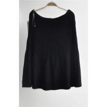 Women Tricots Pure Color Short Dress Sweater