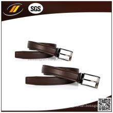 Top Grain Formal Genuine Leather Metal Bucklt Belt for Men